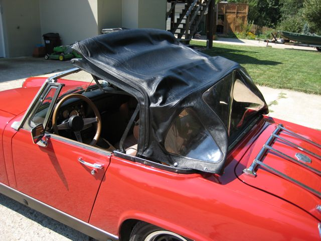 Folding The Midget Sprite Soft Top How To Library The