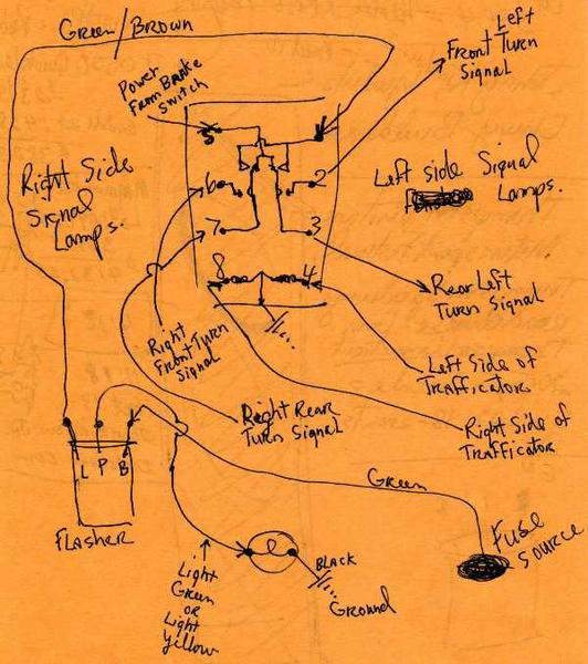 bj7 wiring for single flasher indicator warning bulb the 3000 rh ahexp com austin healey 3000 mk3 wiring diagram austin healey 3000 bj7 wiring diagram