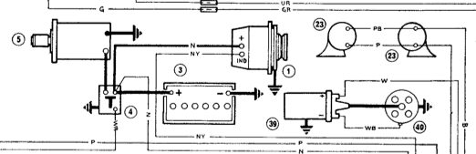 Screen_Shot_Alternator electrical info and wiring diagram? the sprite forum austin morris minor alternator wiring diagram at bayanpartner.co