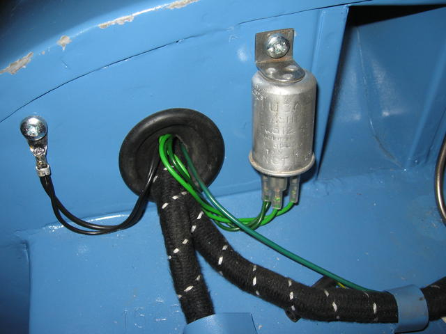 BE Mk 1 wiring harness thru firewall : The Sprite Forum : Austin ...
