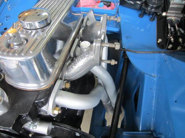 Speaking, did mg midget exhaust header