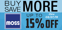 Save up to 15% with Moss Motors' Buy More, Save More Sale