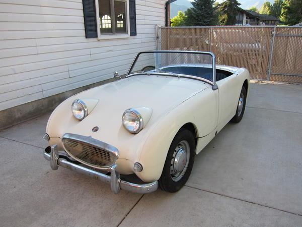 1959 Austin Healey Bugeye Sprite An521571 Registry