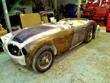 1961 Austin Healey 3000 White paul w