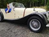 1961 Morgan Plus 4 4 Cream Black Alex Haugland