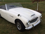 1957 Austin Healey 100 Six White Mike March
