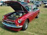1974 MG MGB GT V8 Damask Red Alex Haugland