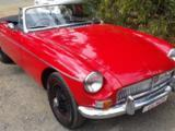 1966 MG MGB MkI Red Phil Crowell