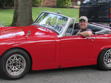 1968 Austin Healey Sprite Red Mike Pollack